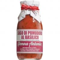 Kirschtomatensauce m. Basilikum, 240 ml - Donna Antonia