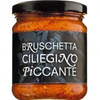 Bruschetta aus Kirschtomaten pikant, 200 g - Pomodoro piu buono