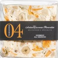 Torrone Haselnuss und Orange, 80 g - Antica Torroneria