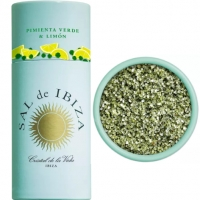 Granito grüner Pfeffer u. Zitrone, 85 g - Sal de Ibiza