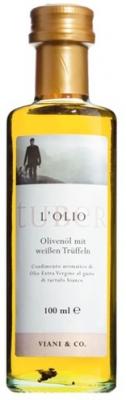 Olivenöl nativ extra m. weißen Trüffeln, 100 ml - Viani & Co.