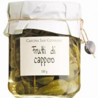 Kapernäpfel in Weinessig, 180 g - Cascina San Giovanni