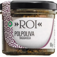 Schwarze Olivencreme, 90 g - Olio Roi