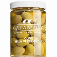 Grüne Riesenoliven Bella di Cerignola, 550 g - Galantino