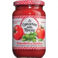 Tomatensauce m. Basilikum, 370 ml - Conserve Nonna