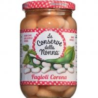 Corona-Bohnen in Salzlake, 360 g - Conserve della Nonna