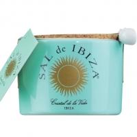 Flor de sal - Fleur de sel im Keramiktopf, 150 g - Sal de Ibiza