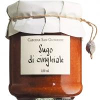 Tomatensauce Cinghiale mit Wildschein, 180 ml - San Giovanni
