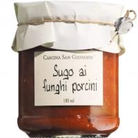 Tomatensauce Funghi mit Steinpilzen, 180 ml - San Giovanni