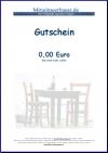 Gutschein Mittelmeerbasar 25,00 EUR