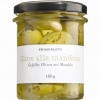 Grüne Oliven m. Mandeln, 180 g - Primopasto