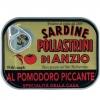 Sardinen in Tomatensauce pikant, 100 g - Pollastrini